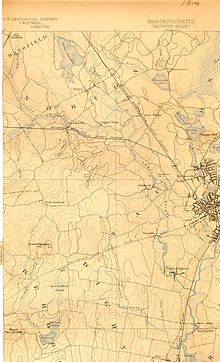 1893 Map of Three Mile River Three Mile River (Massachusetts) map.jpg