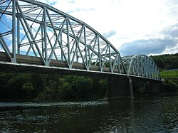 The Tidioute Bridge over the Allegheny River