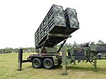 Tien Kung Ⅱ Missile Launcher Display at Hukou Camp Ground 20140329b.jpg
