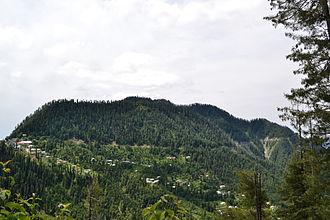 Ayubia National Park - A panoramic view of Tilla Donga
