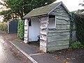 Timber bus shelter at Maplehurst - geograph.org.uk - 1588442.jpg
