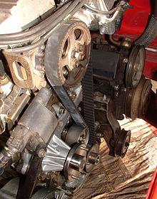 overhead camshaft timing belt nissan rb30e engine