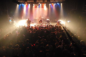 Norma Jean (band) - Norma Jean performing at the Tivoli in the Netherlands in 2007.