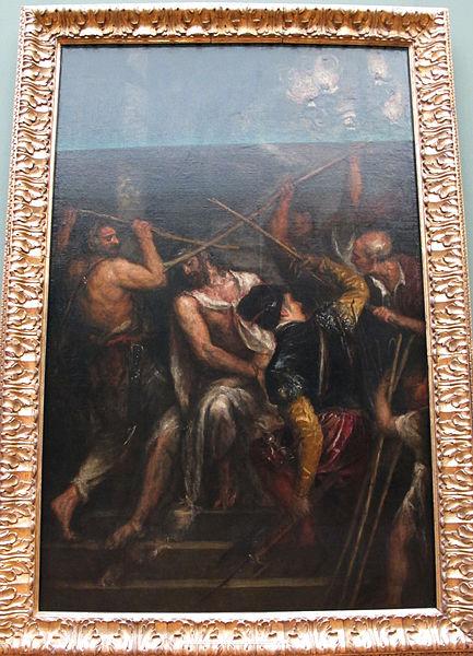 File:Tiziano, incoronazione di spine, monaco 01.JPG