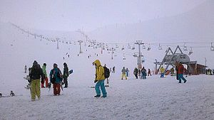 Tochal Complex - Tochal Skiing resort is one of the popular recreational places in Tehran