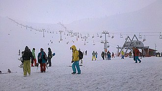 Tochal Complex - Tochal Skiing resort is one of the popular recreational places in Tehran.