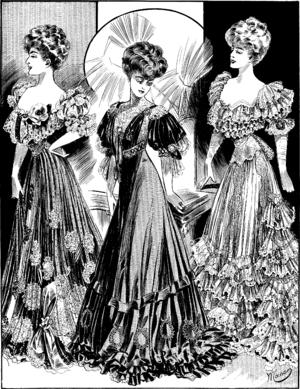 Boué Soeurs - Illustration in Femina magazine, 1905