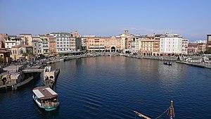 Mediterranean Harbor (Tokyo DisneySea) - View of Mediterranean Harbor