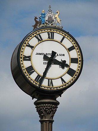 Tollcross, Edinburgh - Close-up of the Tollcross clock