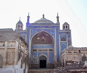 Nawabshah - The tomb of Mian Noor Muhammad Kalhoro