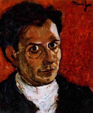 Nicolae Tonitza - Self-portrait (ca.1923)