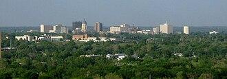 Topeka, Kansas - Topeka skyline