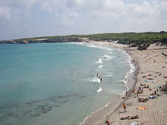 Province of Lecce - Torre dell'Orso beach.