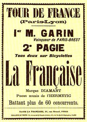 1903 Tour de France - Image: Tour 1903 6