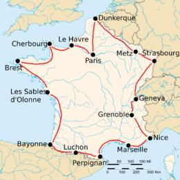 france tours march 2020