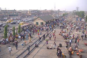 Railway stations in Nigeria - Lagos Oshodi station