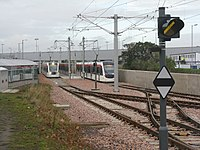 Edinburgh Airport tram stop