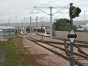Edinburgh Airport Rail Link - Edinburgh Trams Airport stop, opened in 2014