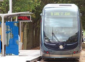 Station Quinconces (Tram de Bordeaux) - Tram place des Quinconces
