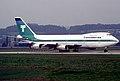 Transamerica Airlines Boeing 747-271C; N742TV@ZRH, August 1982 AZV (5553295620).jpg