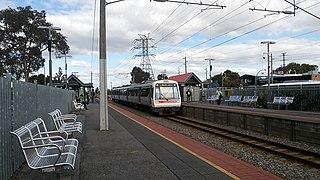 Oats Street railway station Railway station in Perth, Western Australia