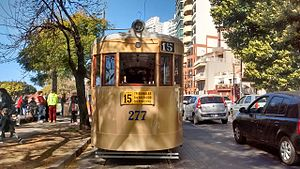 Rosario Tramway - Heritage tramway operated by the Association of Friends of the Rail of Rosario.