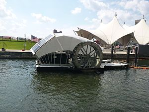Mr. Trash Wheel - Mr. Trash Wheel