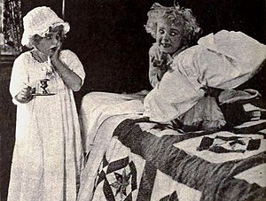 Treasure Island (1918 film) - Still with Virginia Lee Corbin and Francis Carpenter