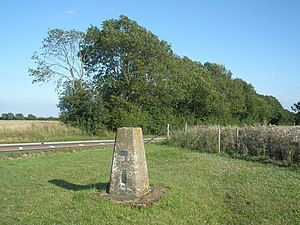Dunstable Downs - Image: Trig point, on Dunstable Downs geograph.org.uk 1440937