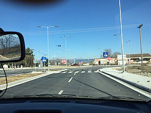 Trikala Ring Road Rizario new interchange 2018.jpg