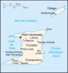Description de l'image Trinidad-et-Tobago carte fr.png.