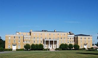 Truesdale Hospital - Image: Truesdale Hosp FR
