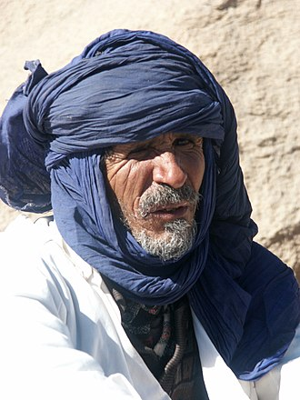 Tuareg people - Tuareg man from Algeria