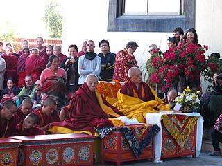 Geshe Lhundrup Rigsel Tibetan Lama