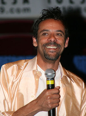 Alexander Siddig - At TrekExpo in Tulsa, Oklahoma, on 25 June 2005