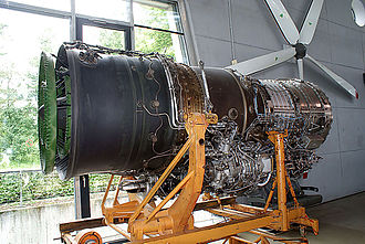 Tumansky R-29 - Tumansky R-29-300 on display at the Deutsches Museum Flugwerft Schleissheim