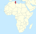 Tunisia in Africa (-mini map -rivers).svg
