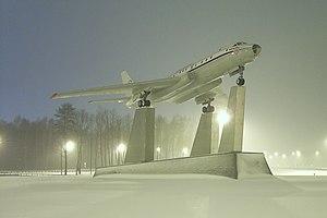 Tupolev Tu-104 - A Tu-104 near Vnukovo Airport