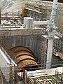 Turbine armour for kaplan straflo turbine-power plant in Albbruck.jpg
