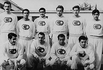Turkey national basketball team - Turkey national basketball team squad in 1946.
