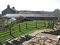 Turret 48b (Willowford West) and Willowford Farm - geograph.org.uk - 1367867.jpg