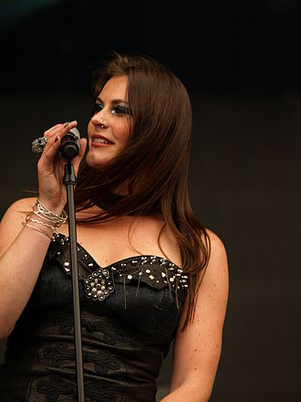 Floor Jansen, a lead vocalist of Nightwish, at Tuska Open Air Metal Festival in Helsinki, Finland, in 2013 Tuska 20130630 - Nightwish - 48.jpg