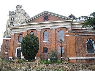 St Marys Church, Twickenham Church in England