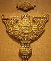 Two-part pectoral, Tamil Nadu, India, 19th century, gold, rubies and diamonds, Honolulu Academy of Arts.JPG