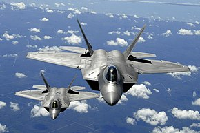 Two F-22 Raptor in column flight(2).JPG