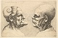 Two deformed heads facing each other MET DP823736.jpg