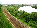 Two ways, Nemunas river and railway from Kaunas to Vilnius - panoramio.jpg
