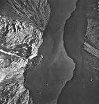 Tyeen and Hoonah Glaciers, tidewater glacier terminus and striations in the rocks, August 25, 1968 (GLACIERS 5940).jpg