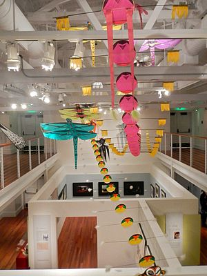 Tyrus Wong - A display of Wong's kites and other artwork at the Walt Disney Family Museum (2013)