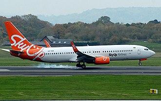 SkyUp - SkyUp Airline Boeing 737-800 UR-SQB